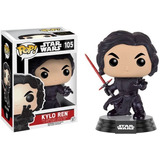 Funko Pop Kylo Ren Star Wars Force Awakens Coleccion Muñeco