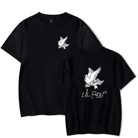 Camiseta Básica Camisa Rapper Lil Peep Cry Baby Unissex 6f6ebaf861b79