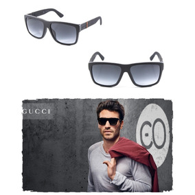 Óculos Sol Gucci Gg1124 Luxo Fosco Justin 59mm Original 47588a8dde