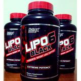 Lipo 6 Black Extreme Potency 120 Caps Nutrex Importado Usa