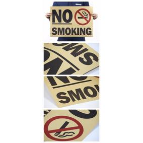 Poster Cartaz - No Smoking 51 X 35