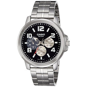 df97c16badf Mtp 1384l 1avdf - Relógio Casio Masculino no Mercado Livre Brasil
