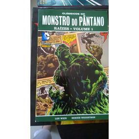 Hq Monstro Do Pântano Raizes Volume 1