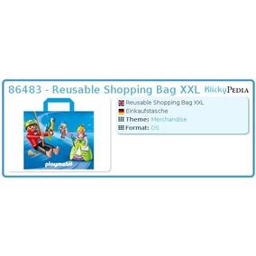 Sacola Playmobil Xxl Reusable Shopping Bag 65x53 Cm