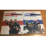 Coleção Marvel Bluray Fases 1 E 2
