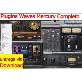 Pacote Plugins Waves Mercury Completo (envio Imediato)