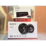 Auto Estéreo Sony Dsx-a410bt Bluetooth Usb Con Bocinas 6.5