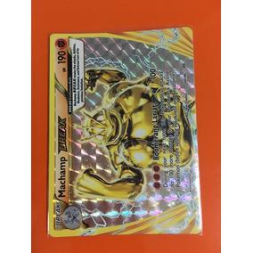 Carta Machamp Break 60/108 Xy12 Evolutions + Sleeve