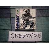 Metal Gear Solid Game Boy Color Completo De Colección!