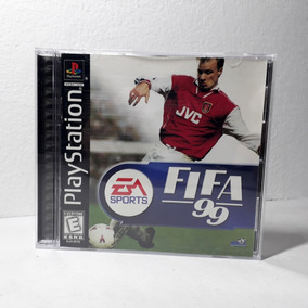 Jogo Fifa 99 Ps1 Playstation Completo Original Raridade!!!