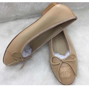 ad6da9c4084 Sapato Chanel Marron C Bege Feminino Sapatilhas - Sapatos no Mercado ...