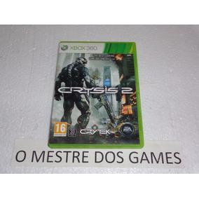 Somente A Caixa + Manual Do Jogo Crysis 2 Para Xbox 360