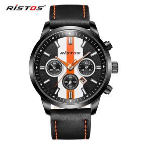 Ristos 2017 Moda Sports Quartz Hombres Reloj Carreras Coche