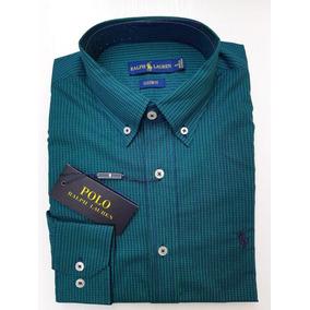 c75dbfeb8136a Camisa Polo Ralph Lauren Verde Masculina Estiluxo - Camisa Masculino ...
