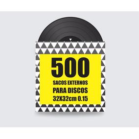 Plásticos Externos P/ Disco De Vinil - Lp