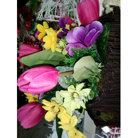 eac5bba7c46 Flores De Plastico Tulipanes en Mercado Libre México