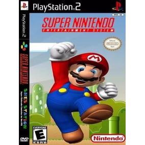3000 Jogos De Super Nintendo No Seu Playstation 2 Sdf