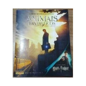 Album Animais Fantasticos Harry Potter Panini Completo Colar