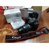 Vendo Canon 7d Original En Caja Con Detalle