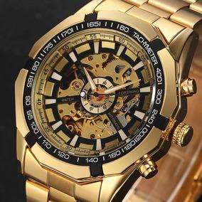 92209524bb7 Relógio Esqueleto Automático Todo Transparente - Relógios no Mercado ...