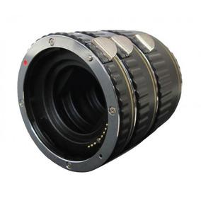 Três Tubos De Extensão Para Câmera Dslr Nikon