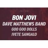 Ingresso Rock In Rio 2019 Bon Jovi 29/09 Meia Ivete Entrada