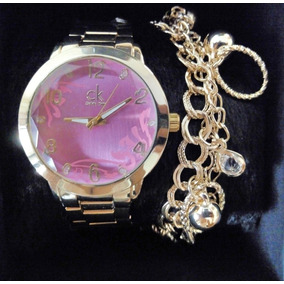 e577f5bcda0 Relogio Calvin Klein Dourado E - Joias e Relógios no Mercado Livre ...