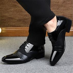 Zapatos Vestidos Formales Casuales Elegantes Para Hombres