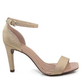 67e1b54fe Sandalia Dourada Sandalias Mariotta - Calçados