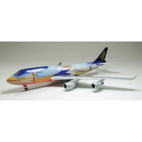 Boeing 747-400 Singapore Tropical 9v-spk 1/400 Phoenixmodels
