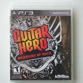 Guitar Hero Warriors Of Rock Ps3 Mídia Física Ótimo