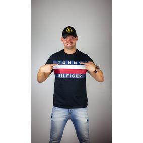 Camiseta Tommy Hilfiger Denin - Tam  M b6cc150d44a04