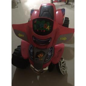 Moto Con Rueda Dañada Sin Bateria