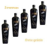 5 Escovas Progressivas D Ouro Cabelos Afro Minas Gerais