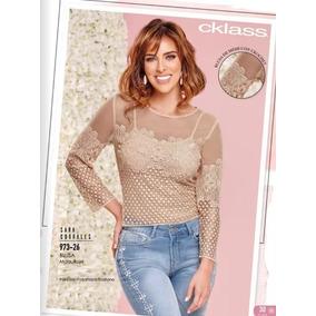 Blusa Cklass Maquillaje 973-26 Primavera Verano 2018 Nueva