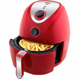 Fritadeira Philco Air Fry Saúde Inox Ph3 Vermelho
