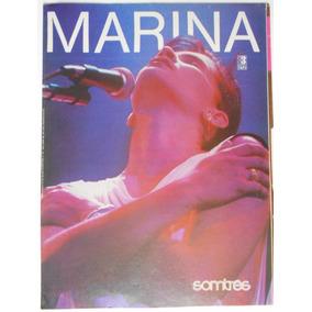 Marina Lima Poster Revista Som 3 84 X 56 Cm. A Cores