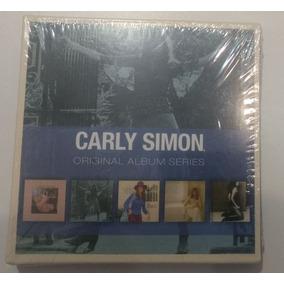 Carly Simon - Original Album Series - Box Com 5 Cds Lacrado