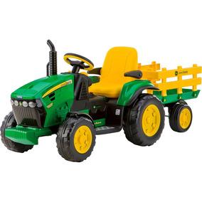 Mini Trator Elétrico Infantil Peg-pérego John Deere Ground F