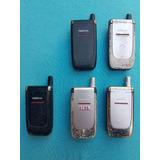 Lote Com 5 Celulares Nokia 6061 (leia A Descrição)