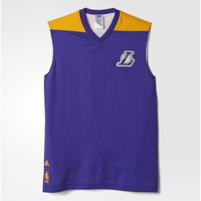 Camiseta Basquete Adidas Lakers Nba - Camisetas e Blusas no Mercado ... ddc419dff