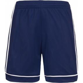 Bermuda adidas Squad 17 Sho Masculino Bk4765 - G - Azul