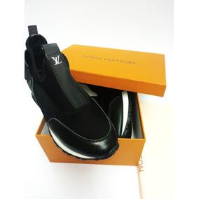 Zapatos Tenis, Sneakers Louis Vuitton Run Away Negros