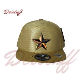Gorra Pit Bull, Dorada, Logo Estrella, Snapback