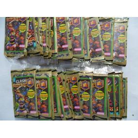 Cartas Clash Royale - 10 Pacotes Com 4 Unidades Cada
