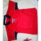 Camiseta Original Umbro Chile 2000-03, Zamorano, Talla 6/8