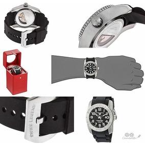 Relógio Automático Swiss Legend Commander Ed.limit. Numerada