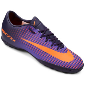45873be6ec612 Chuteira Society Nike Mercurial Rosa Adultos - Chuteiras Violeta no ...