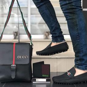 Gucci Zapatillas Hombre Dorado - Ropa y Accesorios en Mercado Libre ... 6866338ad23
