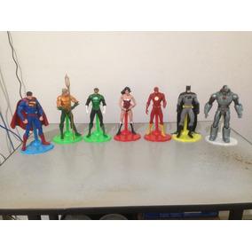 Kit Dc Comics Liga Da Justiça 7 Peças